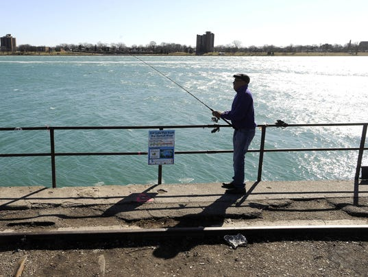 Anglers can fish without a mich license this weekend for Fishing without a license
