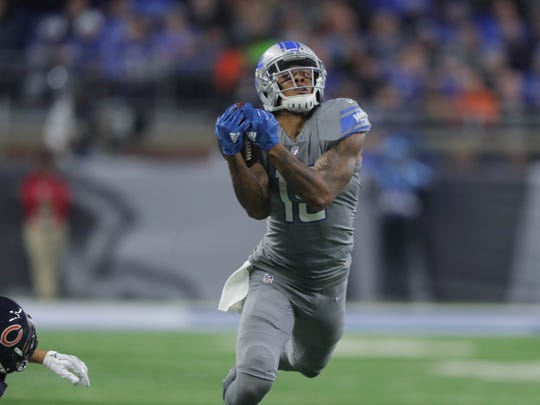 Lions receiver Kenny Golladay.