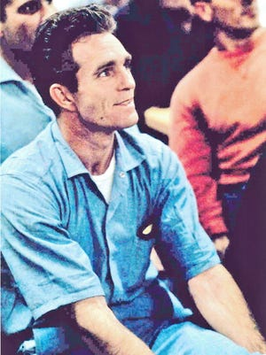 Glen Sherley in the audience during Johnny Cash's Folsom Prison performance.