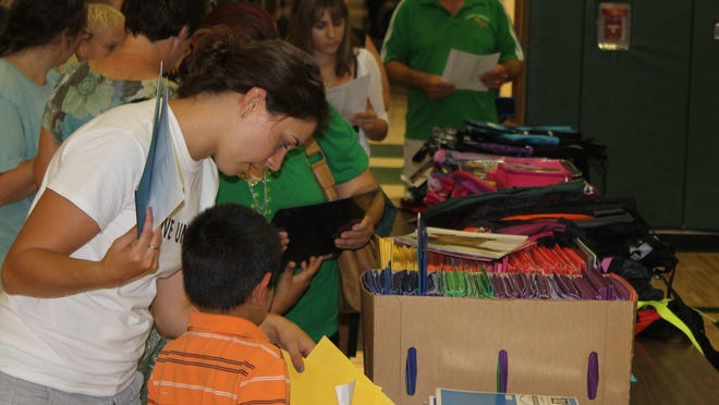 Local registration for Project Fresh Start, a program that provides school supplies to qualifying students, is now open.