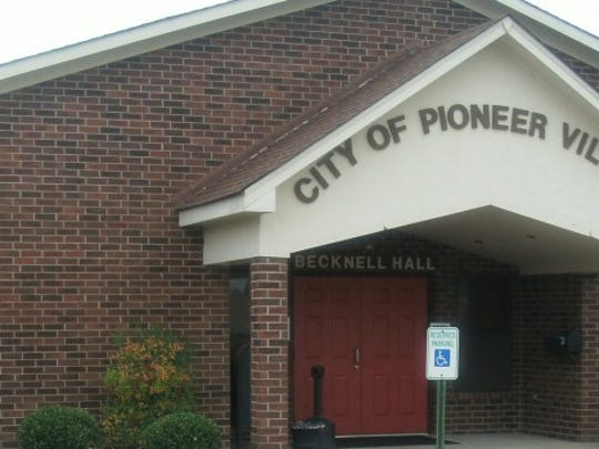 The Pioneer Village municipal building is a hub for the government and the community.