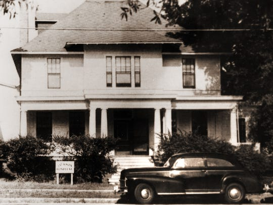 An early shot of Jackson Hospital, circa 1946. (Contributed