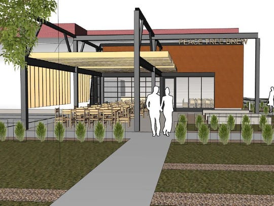 The tap room will be about 1,500 square feet and will