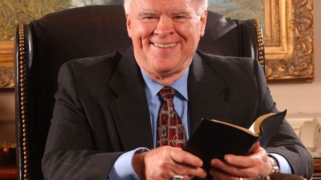 Dr. Paige Patterson, president of Southwestern Baptist Theological Seminary, will be the speaker Sunday during the first service of a four-day revival at Central Baptist Church in Burkburnett. Contributed photo