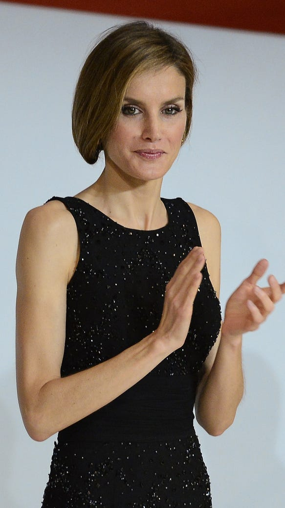 Letizia with new hair style