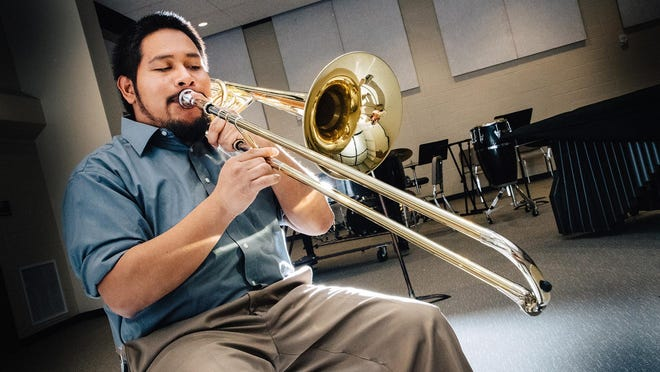 Hector Hernandez graduated from Fort Hays State University this spring with a Bachelor of Arts in music education. He will begin teaching band at Dodge City Middle School in August.