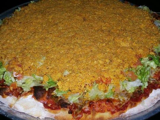 Taco Pizza at Zipp's