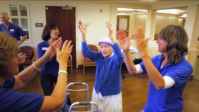 "Residents and staff at Cedar Village in Mason made a video, ""I Stand for Israel."""