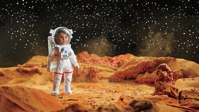 American Girl announced its 2018 'Doll of the Year' as Luciana Vega, a STEM-loving 11-year-old who dreams of exploring Mars one day.