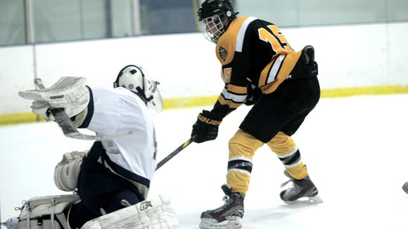 West Milford's Chris Dressler (15) is among the top