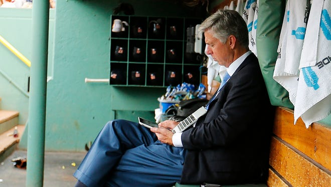 Just three weeks ago, Dave Dombrowski was at Fenway Park as the Tigers' GM. Now, he runs the Red Sox.