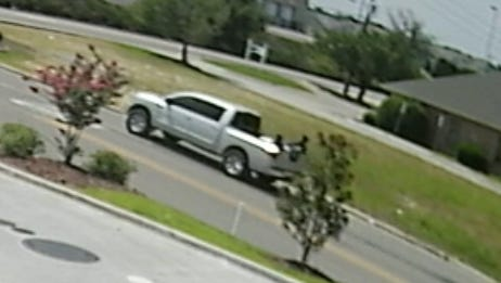 The driver of this pickup truck is wanted for questioning by Hattiesburg police in connection to the murder of Corey Husband.