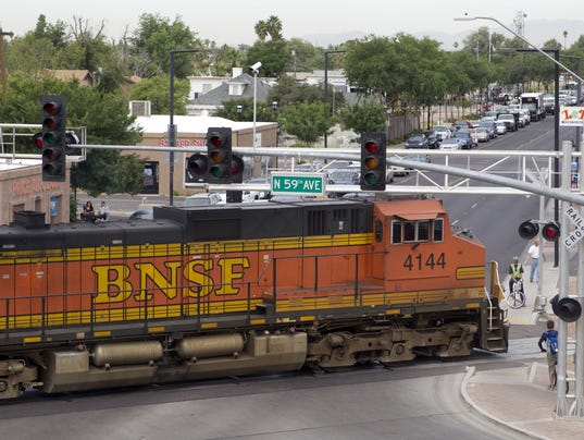 Train crossings