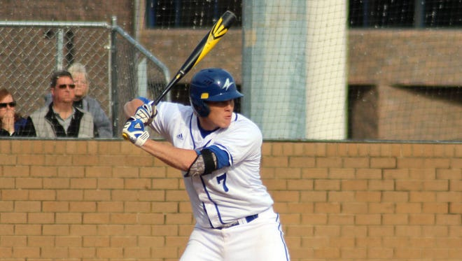 Erwin graduate Hunter Bryant now plays baseball at UNC Asheville.