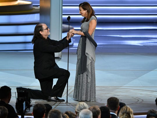 Glenn Weiss, who won his 14th Emmy Award Sunday, proposed