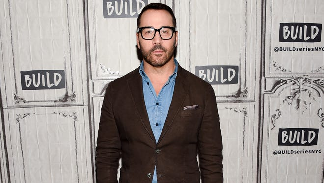 Jeremy Piven on Oct. 31, 2017, in New York.