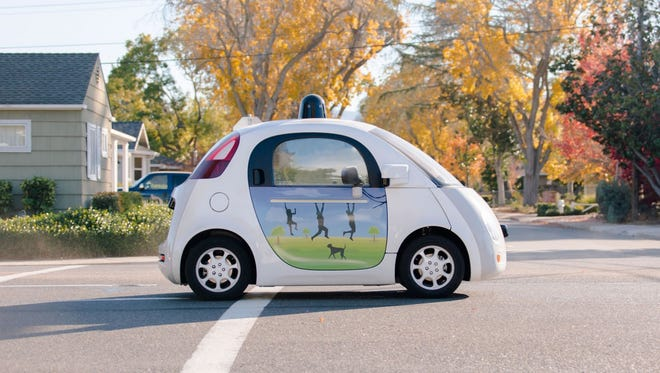 Google has revealed that its self-driving cars can even honk the horn like a regular human.