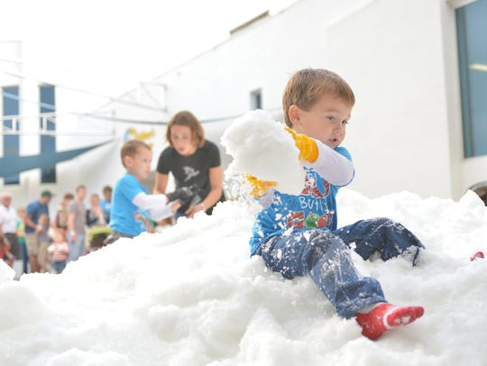 Grab your mittens and join the snowy fun at the Children's