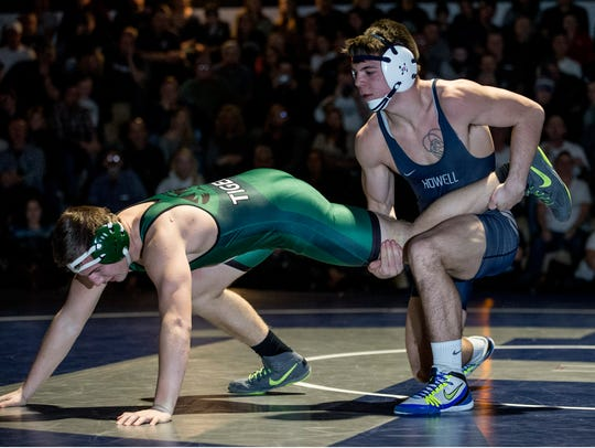 South Plainfield at Howell. 170lbs- Howell's Shane