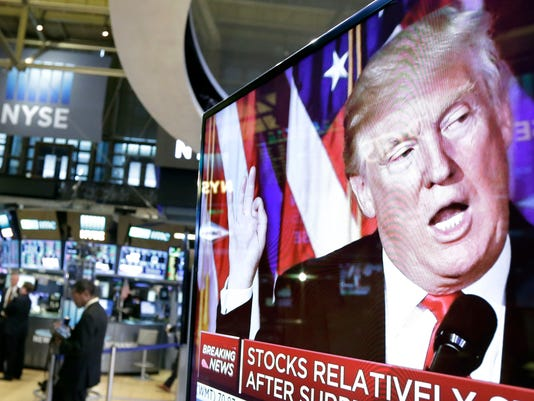 AP FINANCIAL MARKETS POLITICS MATTER F A FILE USA NY