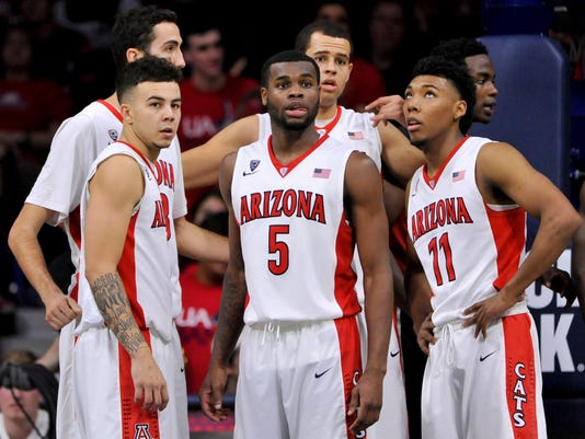 NCAA Basketball: UNLV at Arizona