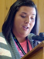 Jacqueline Pride gave the presentation about the Boys and Girls Club building.