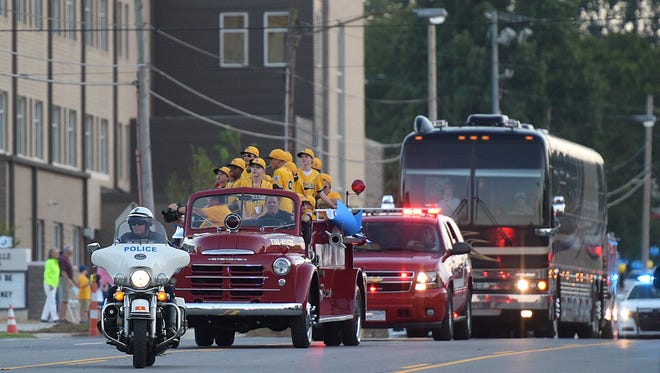 The City of Goodlettsville welcomes home the Goodlettsville All-Stars little league team after their fourth-place run at the Little League World Series in South Williamsport, Pa.