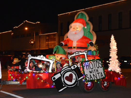 One of the most colorful floats in Vernon's 12th annual