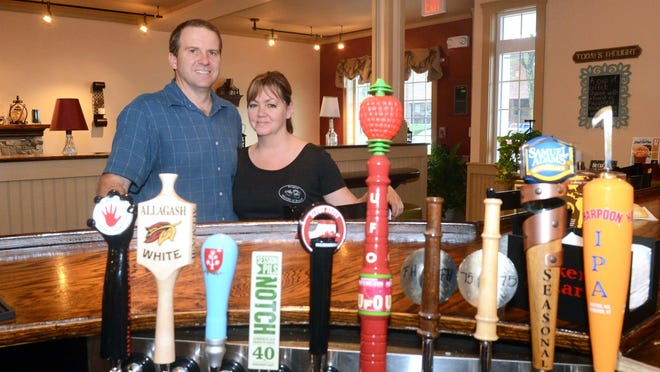 Leo and Sandra Fay of Stoughton, pictured in Stoughton House of Brews when the business first opened in 2013, have recently announced in June 2020 that they are permanently closing the business.