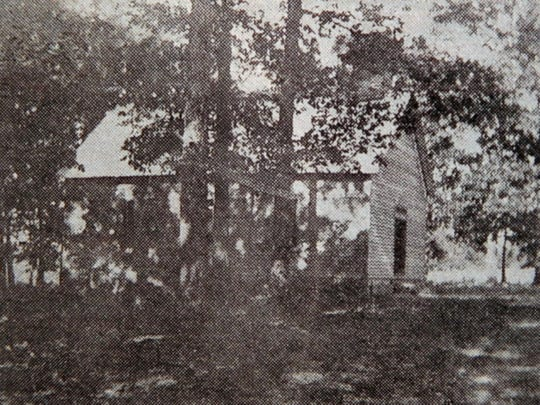 The original Pilgrim's Rest Baptist Church