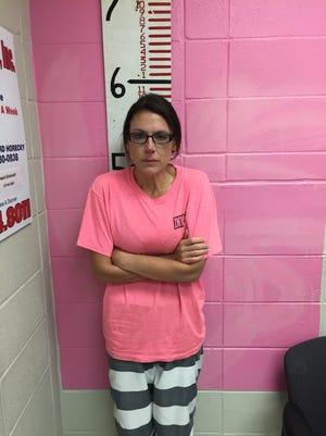 Nicole Aymond, 45, was arrested on November 9, 2016.