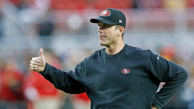 Jim Harbaugh is reportedly leaving the 49ers for his alma mater, Michigan.