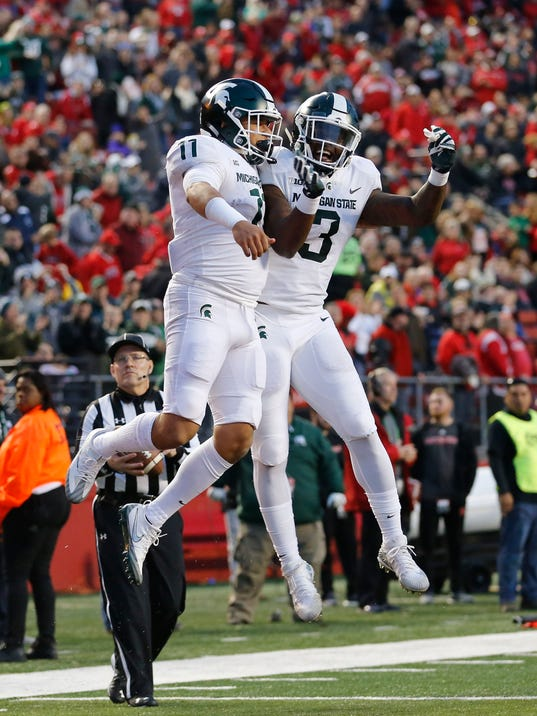 NCAA Football: Michigan State at Rutgers