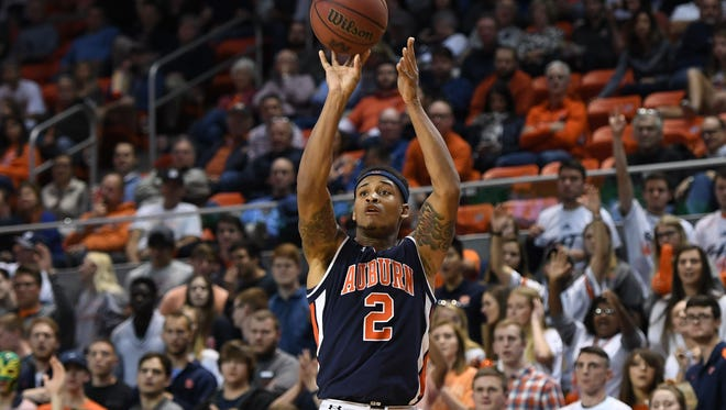 Bryce Brown (2). Auburn basketball vs Norfolk State on Friday, Nov. 9, 2017, in Auburn, Ala.