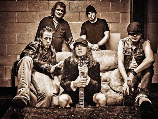 AC/DC tribute band Shoot to Thrill headlines the Bite & Brew of Salem on Saturday.