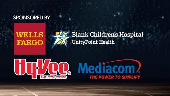 The Des Moines Register Sports Awards sponsors.