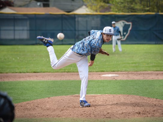 It's business as usual at Livonia Stevenson for pitchers