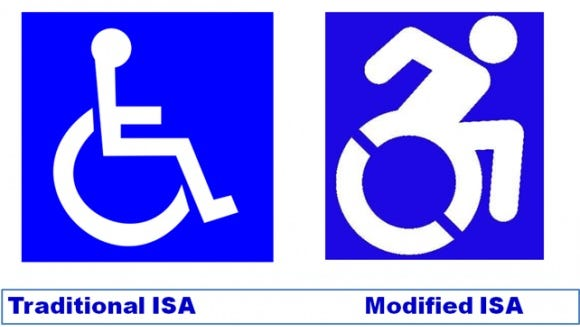 New accessibility sign