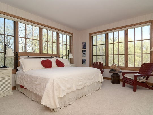Each master suite on the main floor has plenty of windows