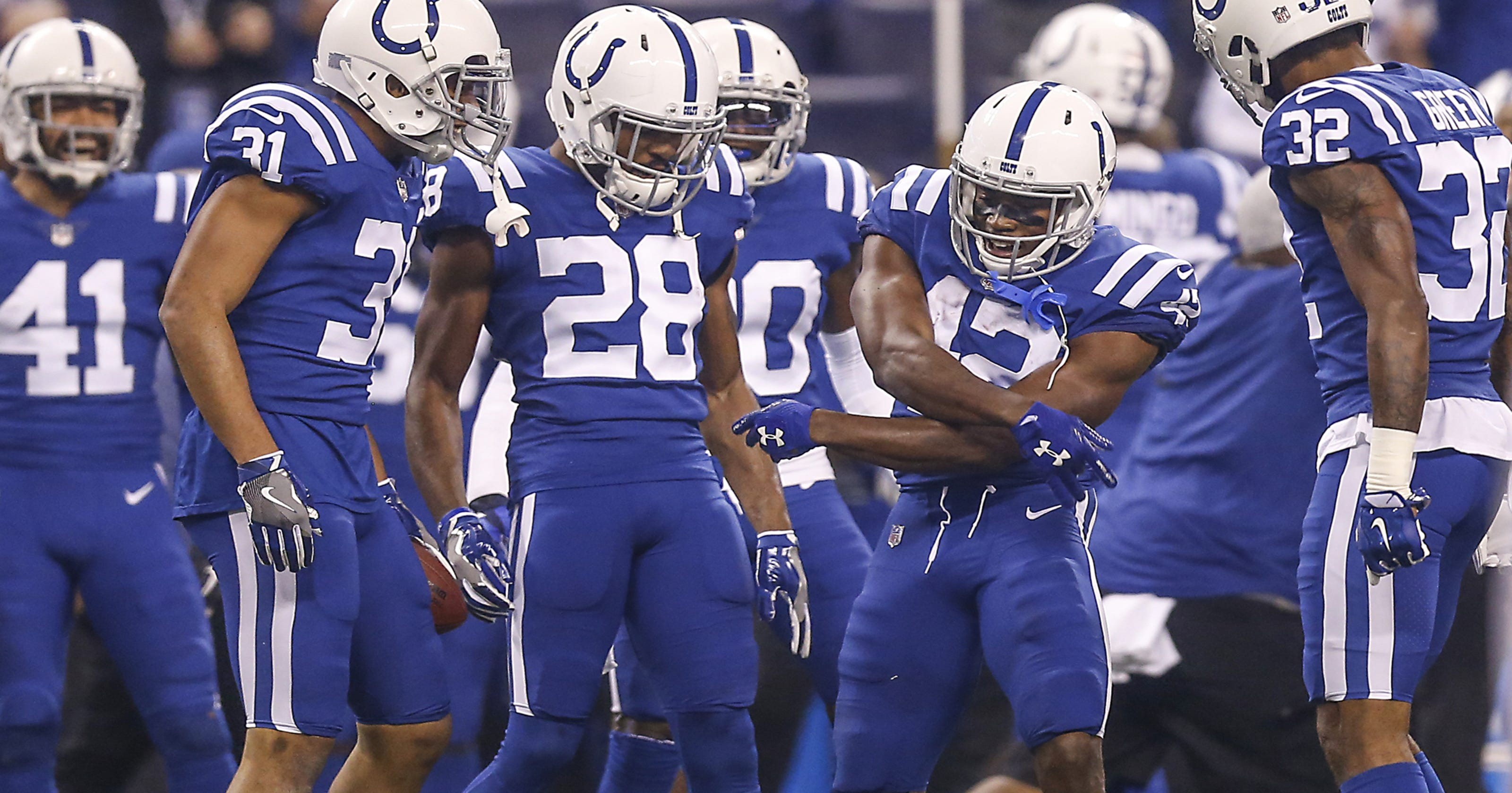 Colts vs. Broncos  Color rush uniforms bring a boost to matchup b59428aa9