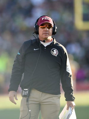 Jimbo Fisher's Seminoles will play their spring game in Orlando in 2016.