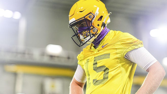 If nothing else, LSU quarterback Myles Brennan knows about patience and overcoming adversity. The coach he committed to got fired, he's had two different offensive coordinators and three different passing game coordinators, and he got leapfrogged by Joe Burrow, who won last year's Heisman Trophy.
