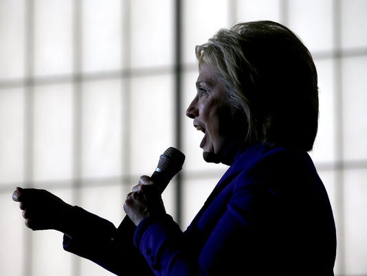 Hillary Clinton Campaigns In New Hampshire Ahead Of Primary