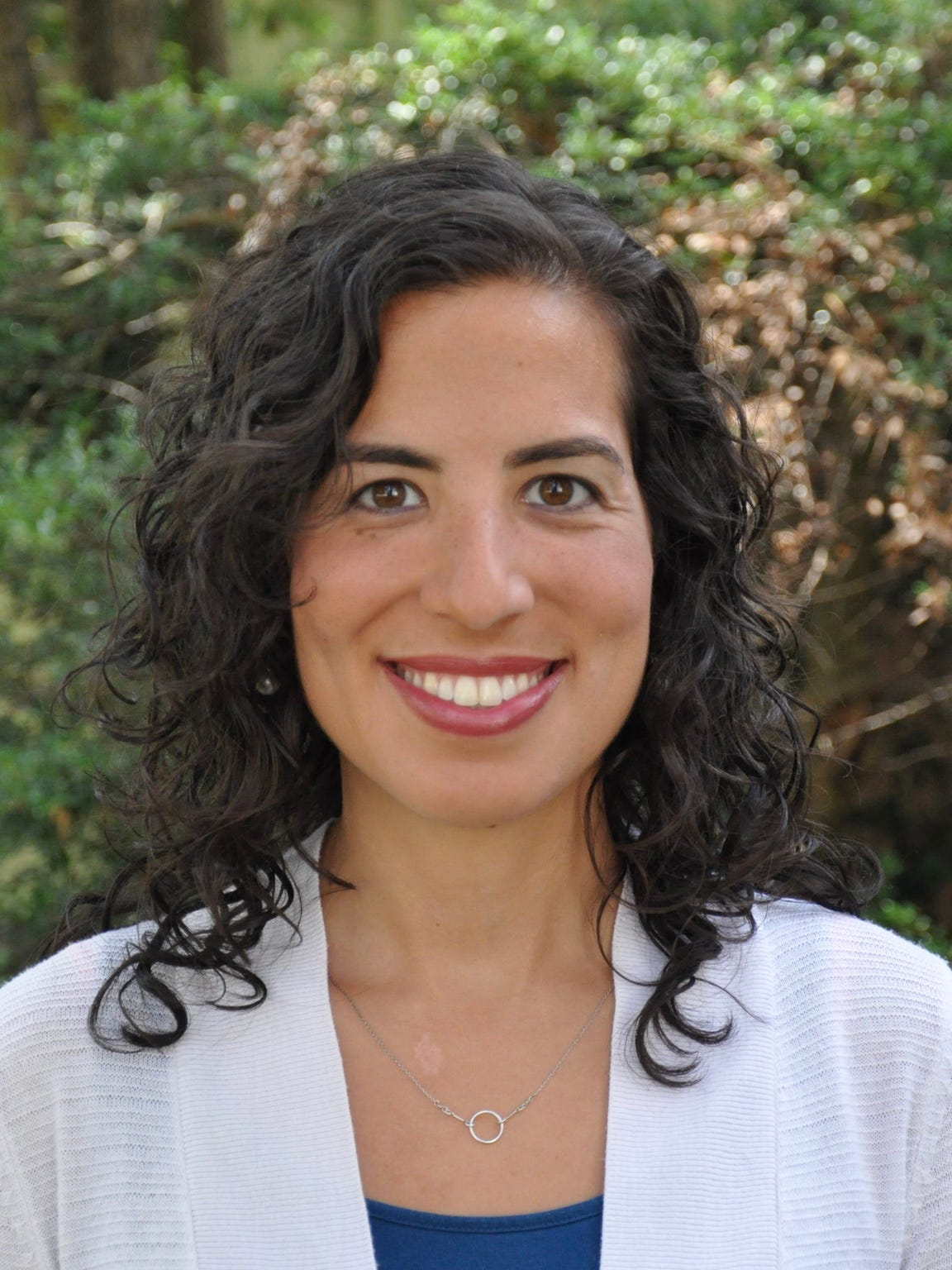 Rev.  Samantha Gonzalez-Block of Grace Covenant Presbyterian Church.
