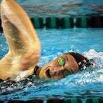 Northville junior Laura Westphal was runner-up in the Division 1 200- and 500-yard freestyle events Saturday at the Holland Aquatic Center.