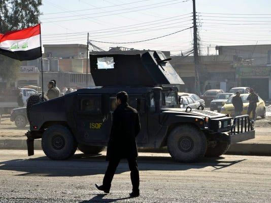 EPA IRAQ UNREST MOSUL WAR ARMED CONFLICT IRQ IR