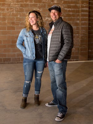Ruth and Scott Weaver are opening a new bar on College Boulevard in Farmington called Traegers.