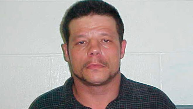 This June 8, 2010 photo provided by the Kay County Detention Center shows Michael Vance.
