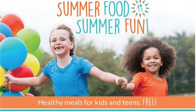 No need to sign up. Just show up for free summer meals.