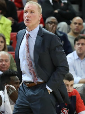 Hall of Famer Chris Mullin is in his second season coaching his alma mater, St. John's, which plays Michigan State tonight in the first round of the Battle 4 Atlantis in the Bahamas.